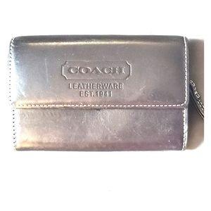 Coach mens coin pouch